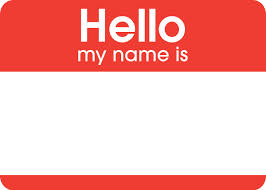 name badge